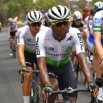 South African Nicholas Dlamini is one of the riders who has renewed his contract with the Dimension Data
