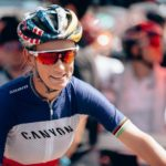 Pauline Ferrand Prevot won the elite women's cross-country race at the UCI Mountain Bike World Championships