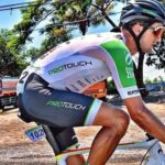 Rohan du Plooy placed 10th on stage four of the Tour of China