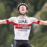 Tadej Pogačar won stage nine of the Vuelta a España