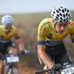 Tim Smeenge (pictured) and Gerben Mos are the overall leaders of the Cape Pioneer Trek
