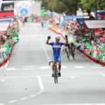 Philippe Gilbert won stage 17 of the Vuelta a Espana