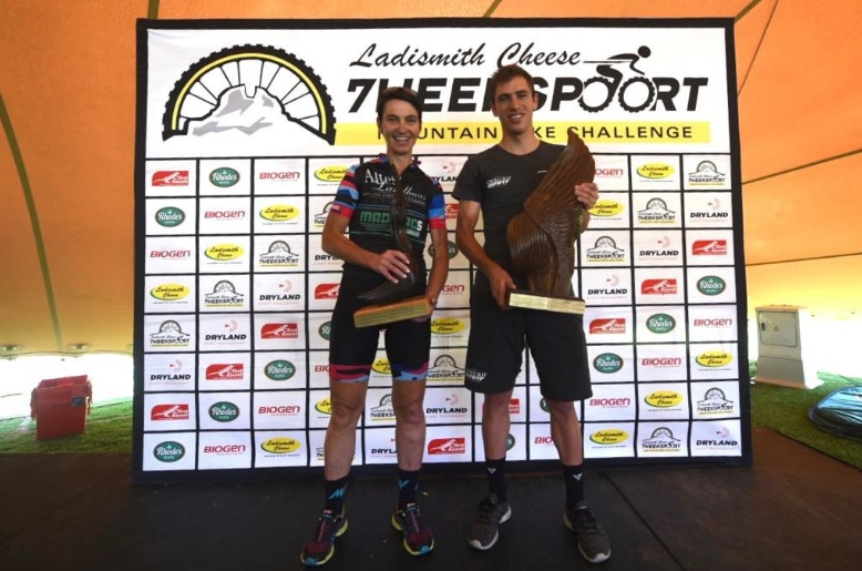Nicol Carstens and Yolande de Villiers won the 85km events at the 7weekspoort MTB Challenge
