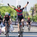 Carla Oberholzer claimed her third win in a row at the Amashova Durban Classic