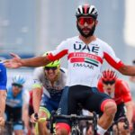 Fernando Gaviria won stage five of the Tour of Guangxi