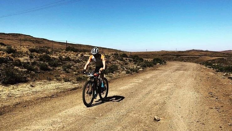 Eastern Cape mountain biker Jason Peach recently won the Maloti 100 Miler