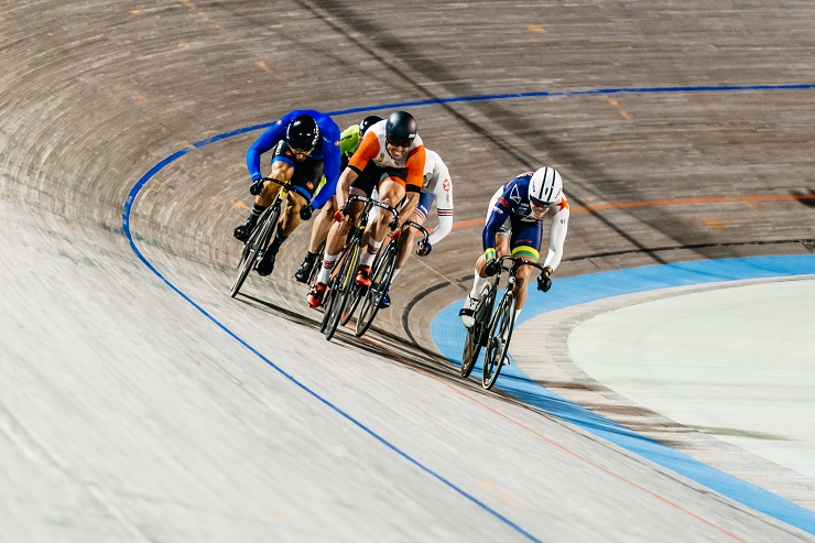 Jean Spies recently achieved the required placings to qualify for the 2019-2020 UCI World Cup Track season