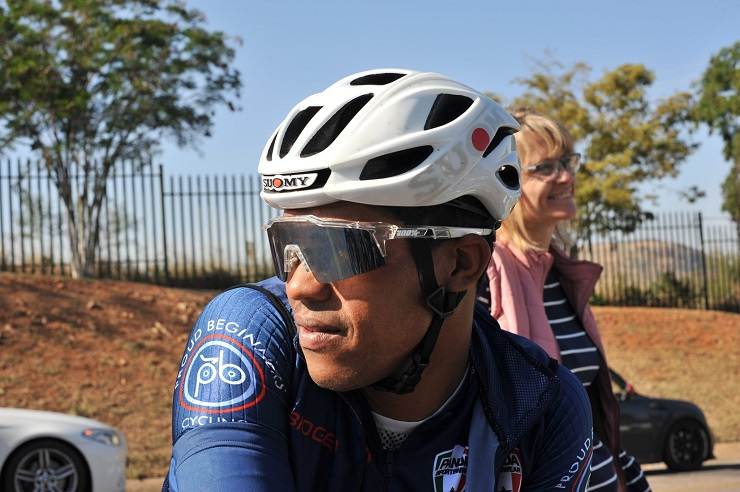 Nolan Hoffman is determined to win the National Classic Cycle Race