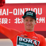 Pascal Ackermann placed second and took the overall lead on stage two of the Tour of Guangxi
