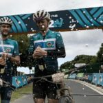 UCT's Michael Lambrecht (left) and Richard Simpson won the Varsity MTB and Wines2Whales Pinotage