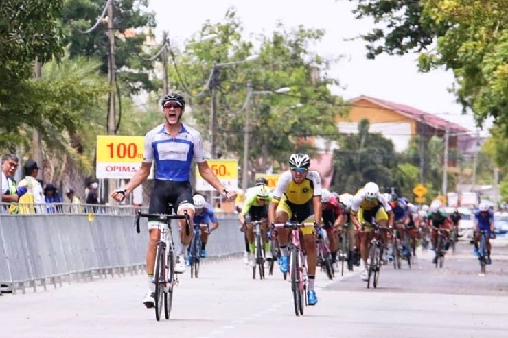 Rohan du Plooy won stage two of the Tour of Peninsular