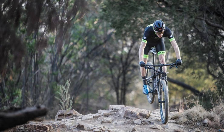 Shaun-Nick Bester claimed his third win in the National Classic MTB Cycle Race