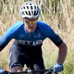 Andrew Hill won the mountain bike race at the Drakensberg Extravaganza