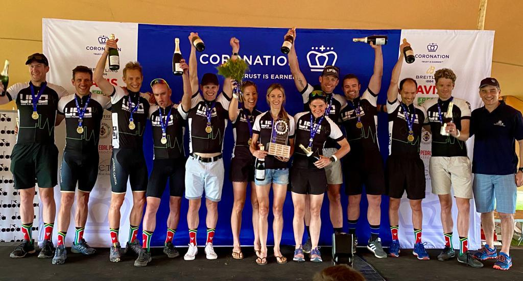 Team UFO won the mixed category at the Double Century