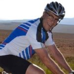 Frans Duys and Janine Hopkins were killed on their tandem after being hit by a taxi