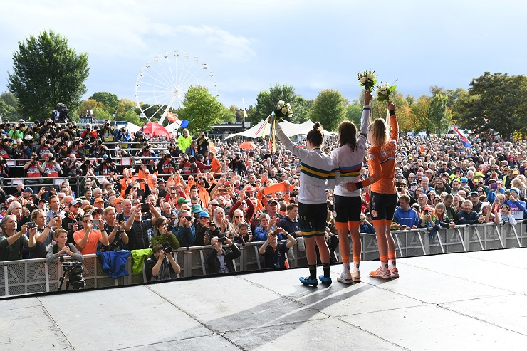 A record number of people tuned in to watch the 2019 UCI Road World Championships