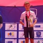 Byron Munton won the 35km time-trial at the Western Cape Road Championships