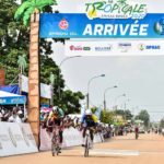 Clovis Kamzong claimed victory on stage four of the Tropicale Amissa Bongo