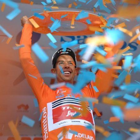 Richie Porte won his second Tour Down Under