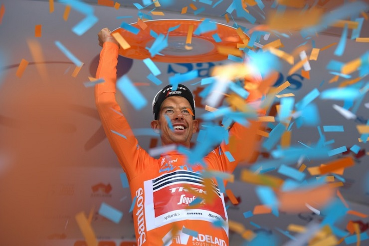 Richie Porte won his second Tour Down Under