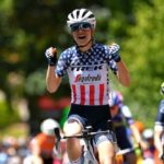 Ruth Winder won stage three of the Women's Tour Down Under