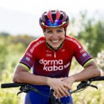 Sabine Spitz has officially signed with top South African mountain bike team dormakaba