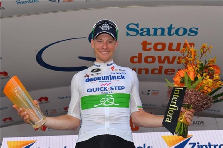 Sam Bennett won stage one of the Tour Down Under