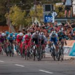 Rudy Barbier sprinted to victory on stage one of the Vuelta a San Juan