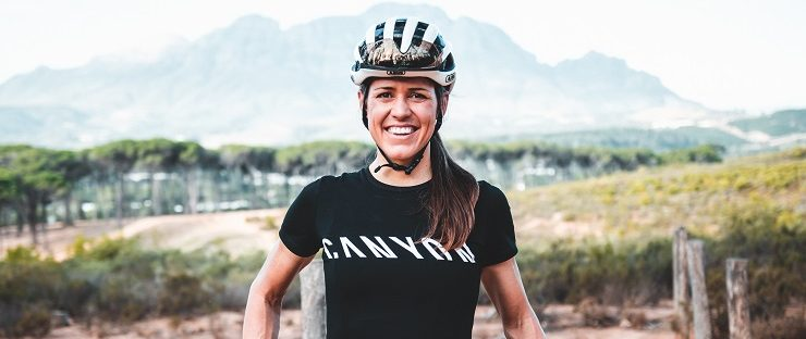 Ariane Luthi has partnered with Canyon Bicycles for the 2020 season and beyond
