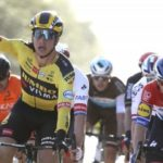 Dylan Groenewegen sprinted to victory on stage one of the Volta a la Comunitat Valenciana