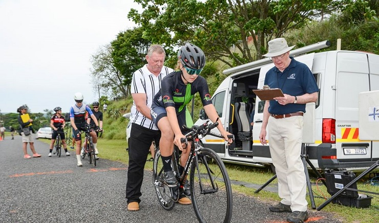 Frances Janse van Rensburg claimed both the U23 individual time-trial and road race titles at the SA national road champs