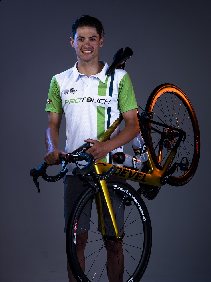 Gustav Basson put in a strong performance at the SA national road champs