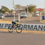Louis Visser won the U23 national road race at the SA road champs