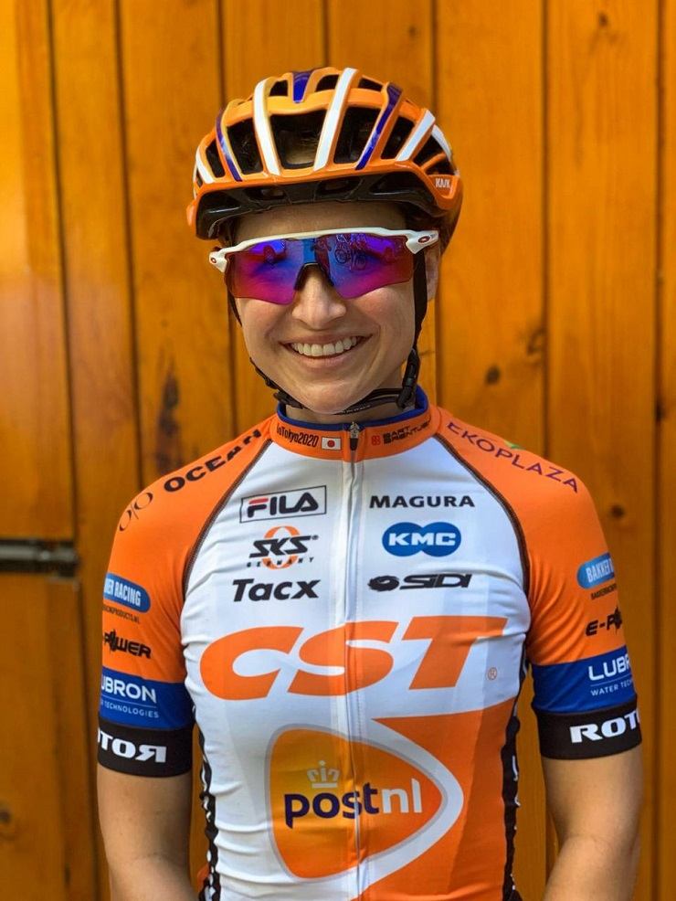 Mariske Strauss (pictured) and Candice Lill will team up for the  four-day Tankwa Trek