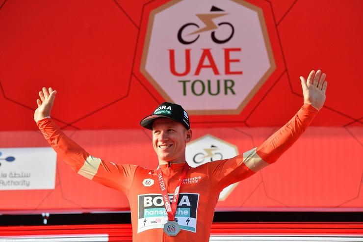 Pascal Ackerman won stage one of the UAE Tour