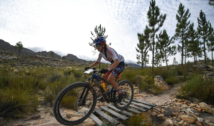 Sarah Hill will tackle the Big Five MTB Challenge