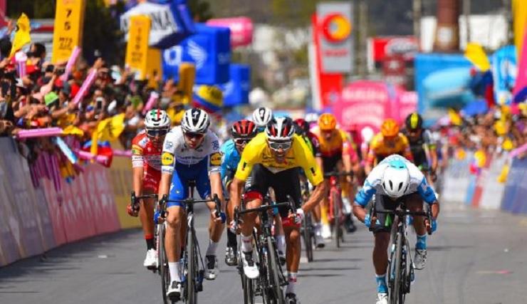 Sebastian Molano won his second consecutive Tour Colombia stage