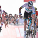 Tadej Pogacar won stage five of the UAE Tour