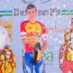 Yevgeniy Fedorov won stage one of the Tour du Rwanda