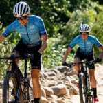 Swiss mountain biker Ariane Luthi hopes to help raise awareness in a bid to halt the spread of the coronavirus.