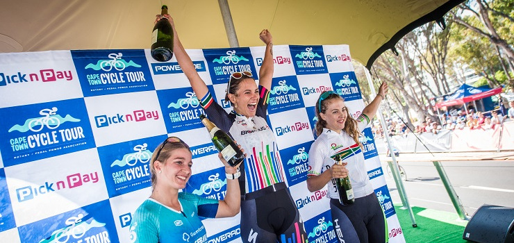 Cherise Willeit won her fifth Cape Town Cycle Tour title