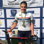 Danielle van Niekerk was crowned the overall elite women's winner at the SA Omnium Track Cycling Championships