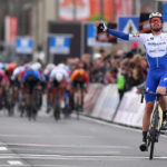 Kasper Asgreen claimed victory in the Kuurne-Brussels-Kuurn