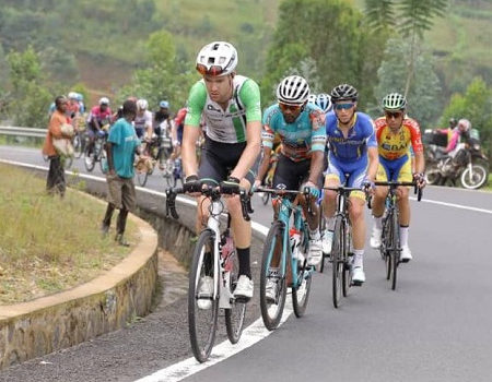 South African Kent Main finished fourth overall at the Tour du Rwanda