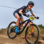 Nadine Rieder won the second event of the WC MTB XCO Series