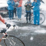Andy Hampsten conquered the Gavia in testing weather conditions to become the first American to win the Giro d'Italia in 1988.