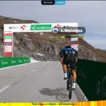 NTT Pro Cycling's Louis Meintjes finished eighth in stage three of the Digital Swiss 5 last night.