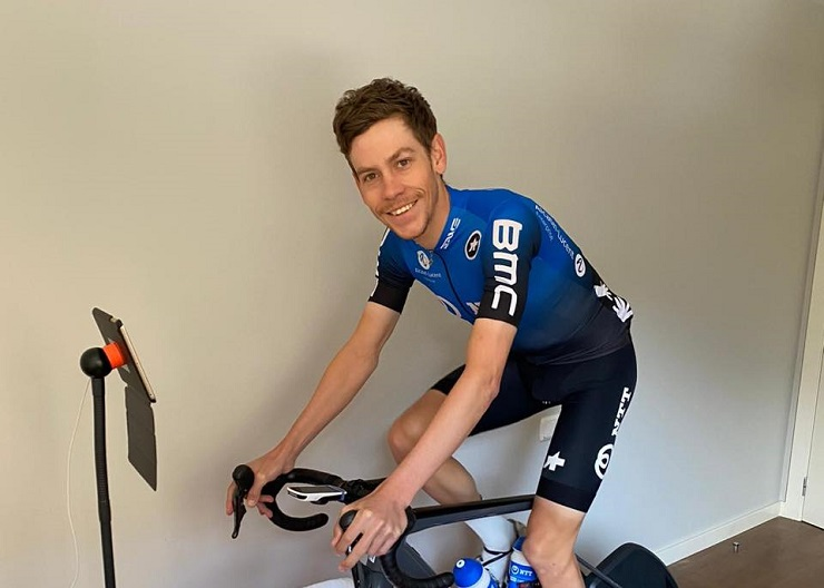 Louis Meintjes forms part of NTT Pro Cycling's first ever e-racing squad, which will take part in the Digital Swiss 5.