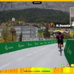 Rohan Dennis won the opening stage of the Digital Swiss 5 tonight.