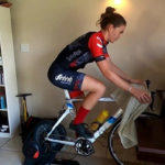 Sarah Hill says the indoor trainer has enabled her to work on her most limiting factor.